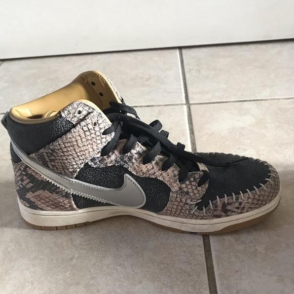 promo code f95b4 5da31 Nike dunk cmft prm Q's snake skin. M_5c9021b9194dadba0bdf63be